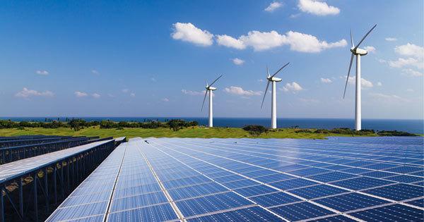 太陽光や風力などの再生可能エネルギー