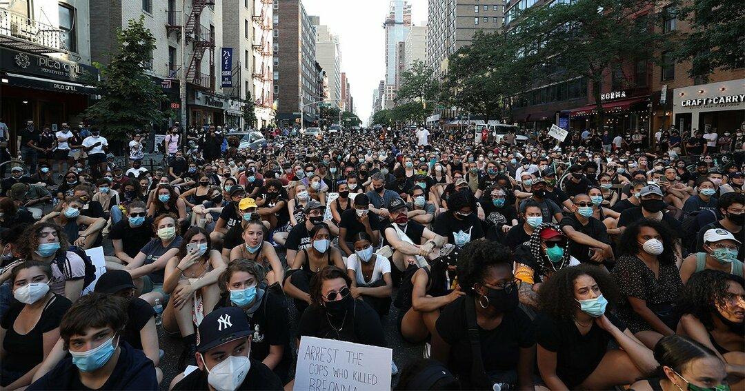米国,アメリカ,デモ
