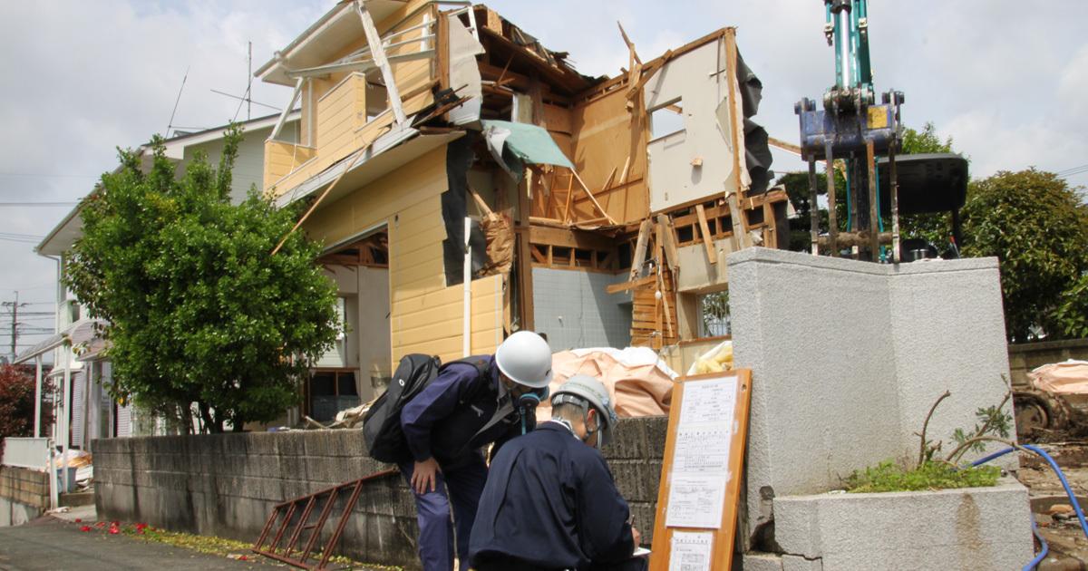 熊本復興の裏で進む「静かな時限爆弾」アスベストの飛散