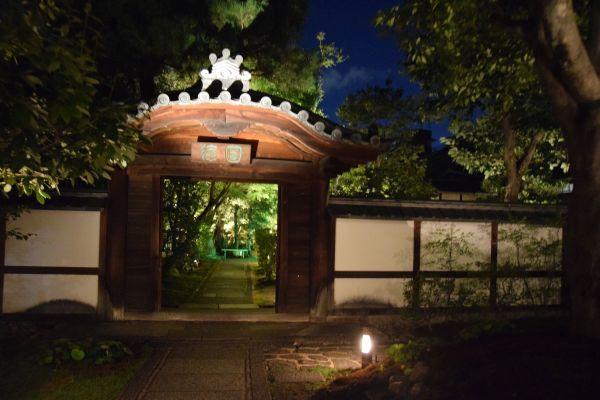 圓徳院の夜間特別拝観「客殿に微涼生ず」