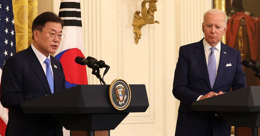 北朝鮮を語りながら中国を見ていたバイデン大統領、米韓首脳会談の内幕