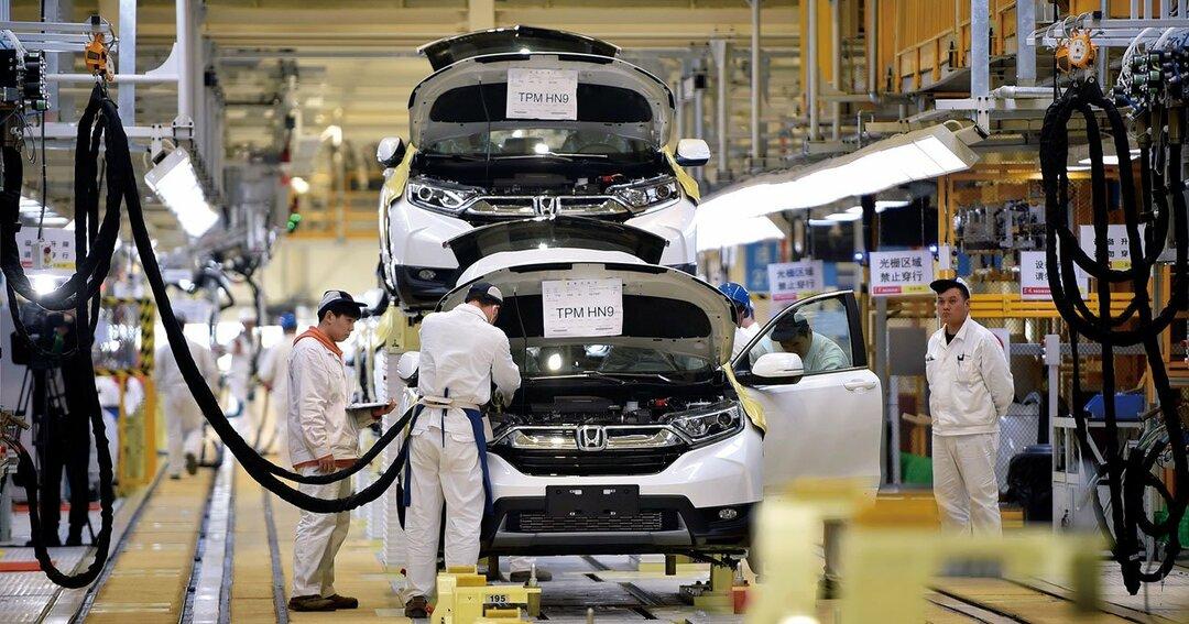 武漢市に主要な生産拠点の3工場を持つホンダは、いまだ生産再開の見通しが立っていない