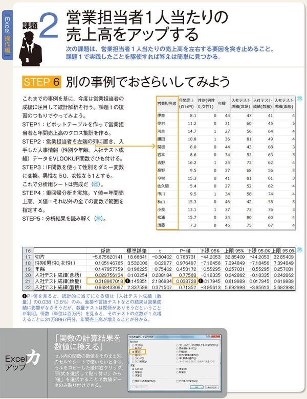 西内啓氏直伝 Excel 操作編(2)