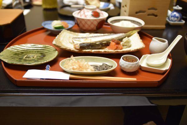 強羅花壇の朝食(和食)