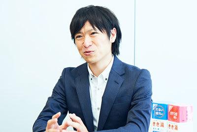 バスクリン販売管理部リーダーの高橋正和さん