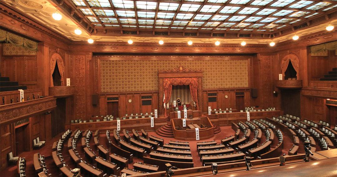 写真:国会議事堂