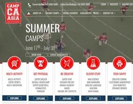 Camp Asiaは7月中に実施される。