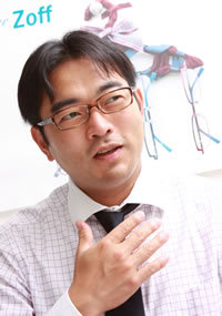 二極化する中国メガネ市場に新風を吹き込めるか<br />5年50店舗を目指すZoffの「勝てるビジネスモデル」