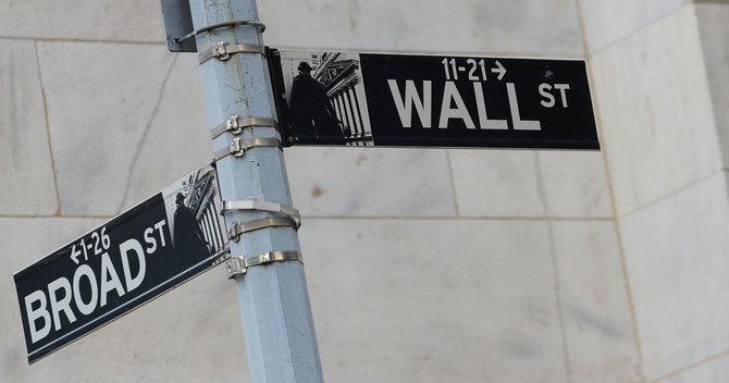 ウォール街のサイン
