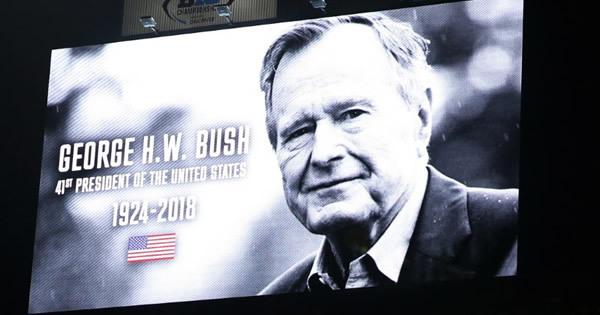 ジョージ・H・W・ブッシュ氏