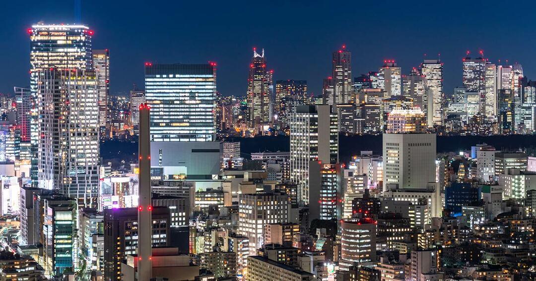 東京都市夜景