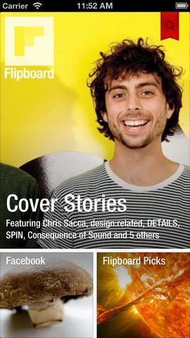 話題の7インチ級タブレットで読みたい<br />「雑誌の誌面のように美しく見せる」Flipboardの真価を考える
