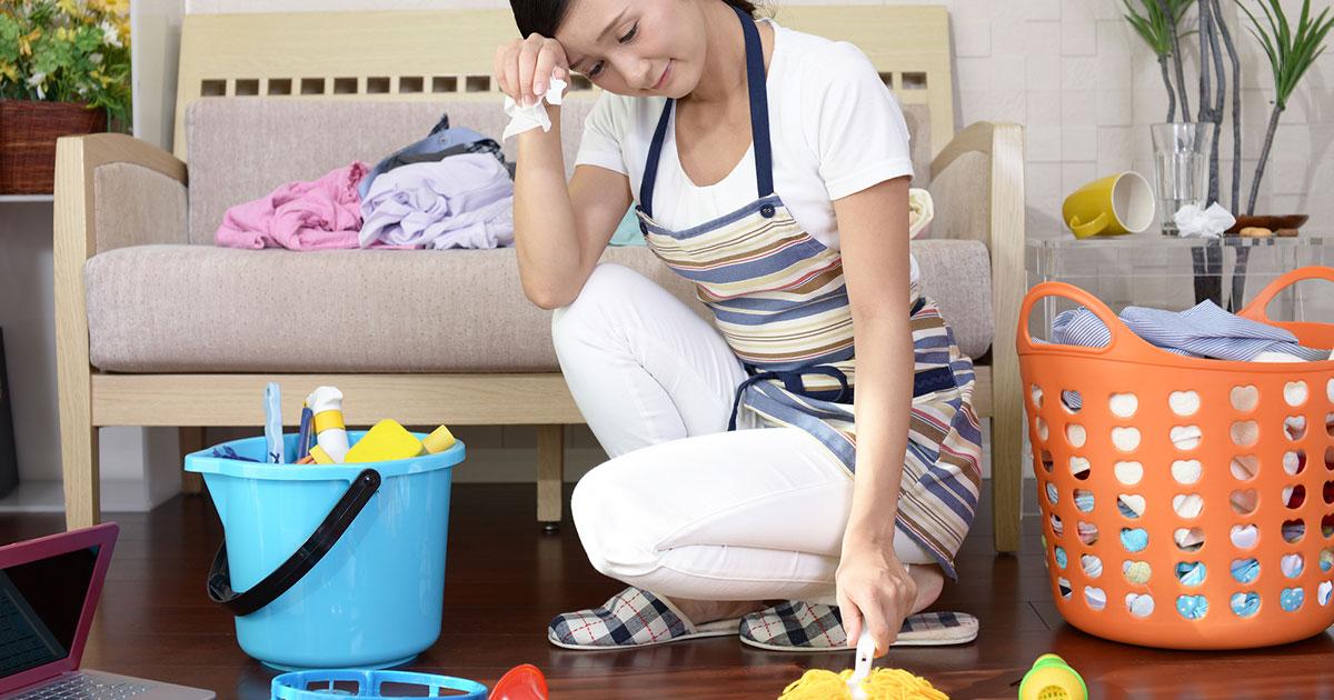 年末に大掃除は不向き?「頑張っても片づかない」失敗の回避術