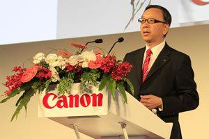 中国で年率30%の売上成長を達成<br />キヤノンの次の目標は15年アジア売上200億ドル<br />――佳能(キヤノン中国)の小沢秀樹総裁が語る高成長の秘密