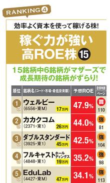 ROEが高い株