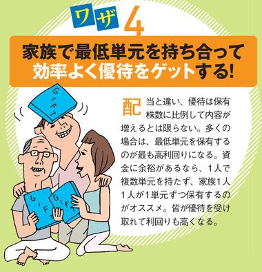株主優待株の投資ワザ4