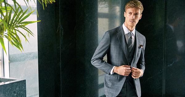 ビジネスエグゼクティブの嗜みラウンジスーツに包まれる 【Part 2】