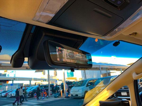 車のデジタルミラー