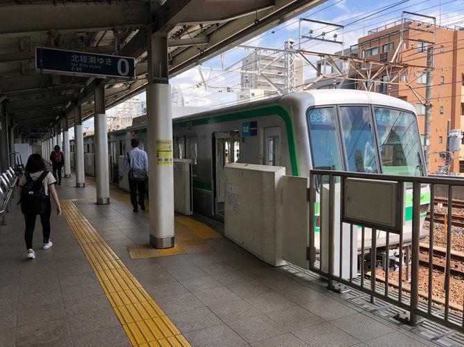 千代田線では今年度末、あらたに北綾瀬駅までの直通運転が始まる。