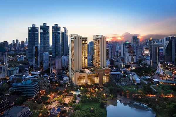 バンコク最大級のタワーホテルは<br />イノベーティブなエスプリを刺激する