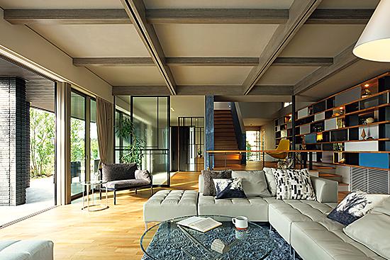 積水ハウス IS ROY+E<br />満ちたりた時が流れる優雅で美しい邸宅