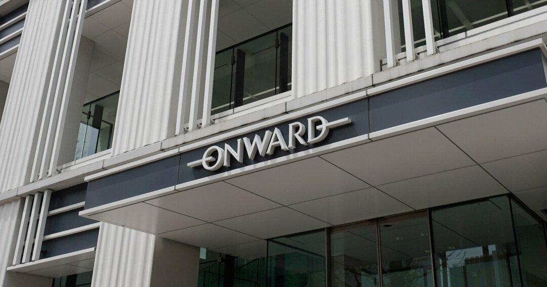 オンワード本社のロゴ