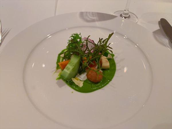 「Chef Mavro(シェフ マブロ)」のamuse bouche(アミューズ ブーシュ)