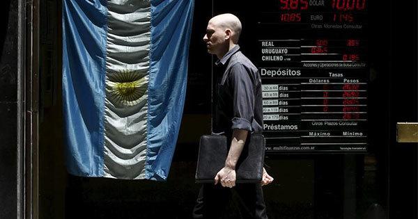 ブエノスアイレスの金融街