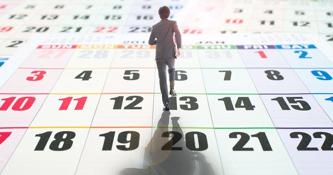 サラリーマン カレンダー