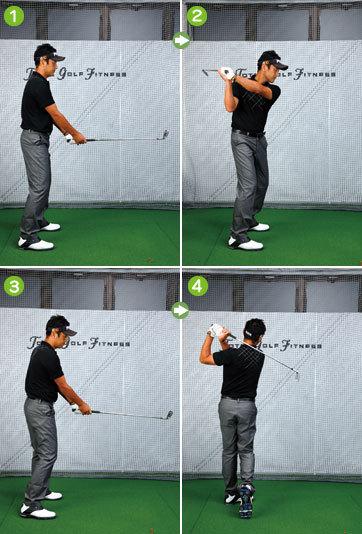 【第69回】アマチュアゴルファーのお悩み解決セミナー<br />Lesson69「ミスが多い人は軸に対する体の回転をもう一度チェック」