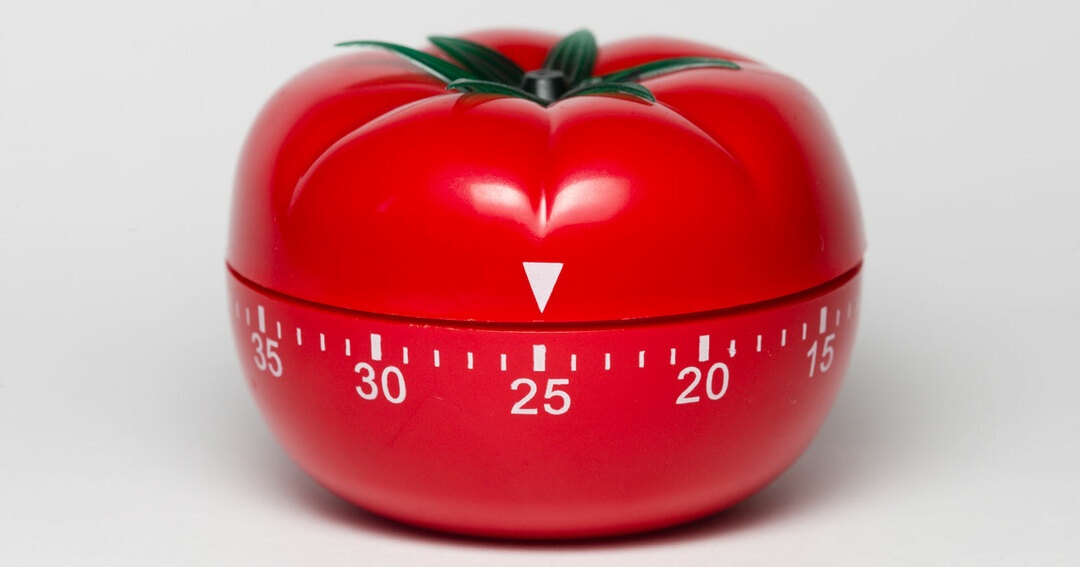 トマトのタイマー