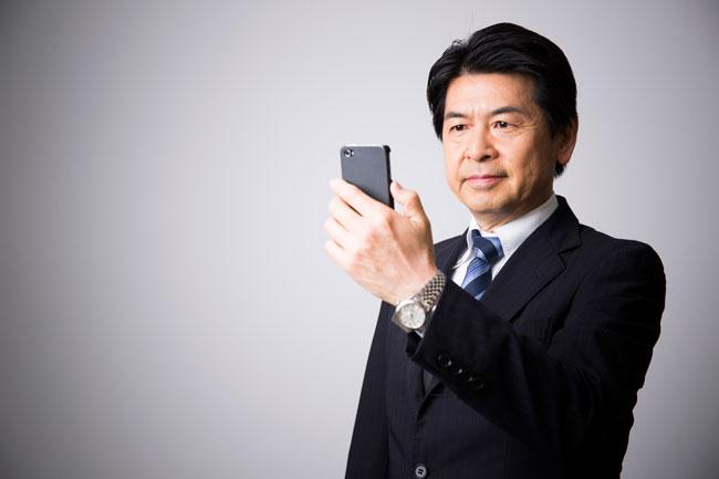 画像加工アプリにハマる中年男性が増加中?