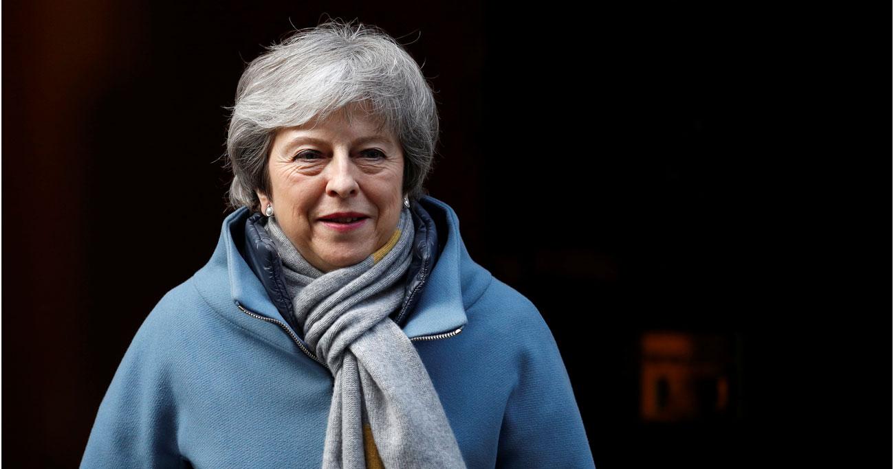 英下院、EU離脱延期を議決 来週離脱案を再採決