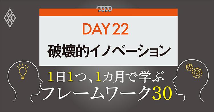 フレームワーク30 DAY22 破壊的イノベーション