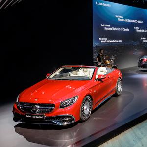 メルセデスやポルシェが新型車を続々ロサンジェルス自動車ショーの見どころは