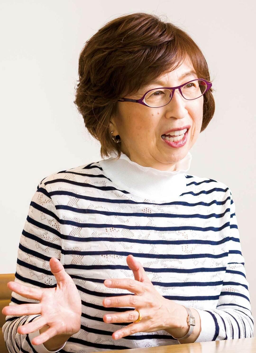 DeNA代表取締役会会長の南場智子氏