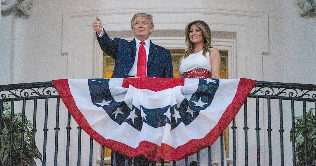 ホワイトハウスで祝われる独立記念日