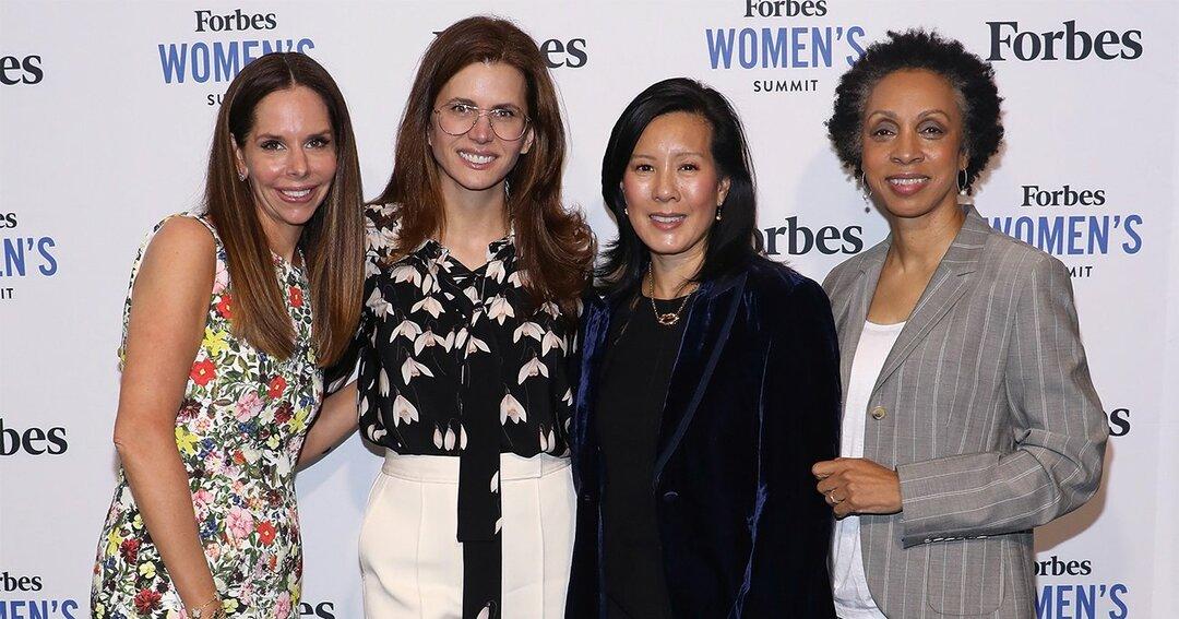 クライナー・パーキンスを経て、カウボーイベンチャーズを立ち上げたアイリーン・リー氏(右から2人目)。女性VCのリーダーとしても知られている