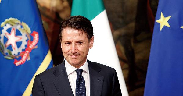 イタリアで新首相に就いたジュゼッペ・コンテ氏