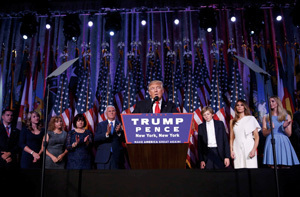 追加緩和は様子見の日銀に誤算 「トランプ大統領」誕生の衝撃