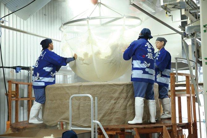 蒸し米作業