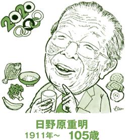 日野原重明先生は日本人の長寿にも大きく寄与した