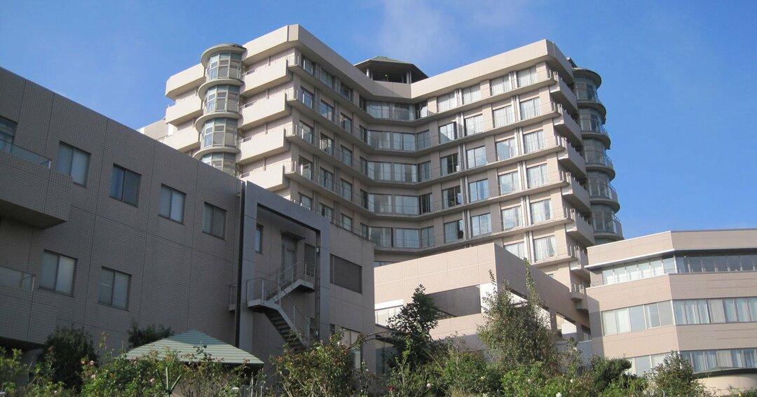 静岡がんセンターの外観