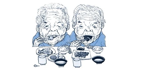 100歳の双子スター「きんさん、ぎんさん」長寿の秘密