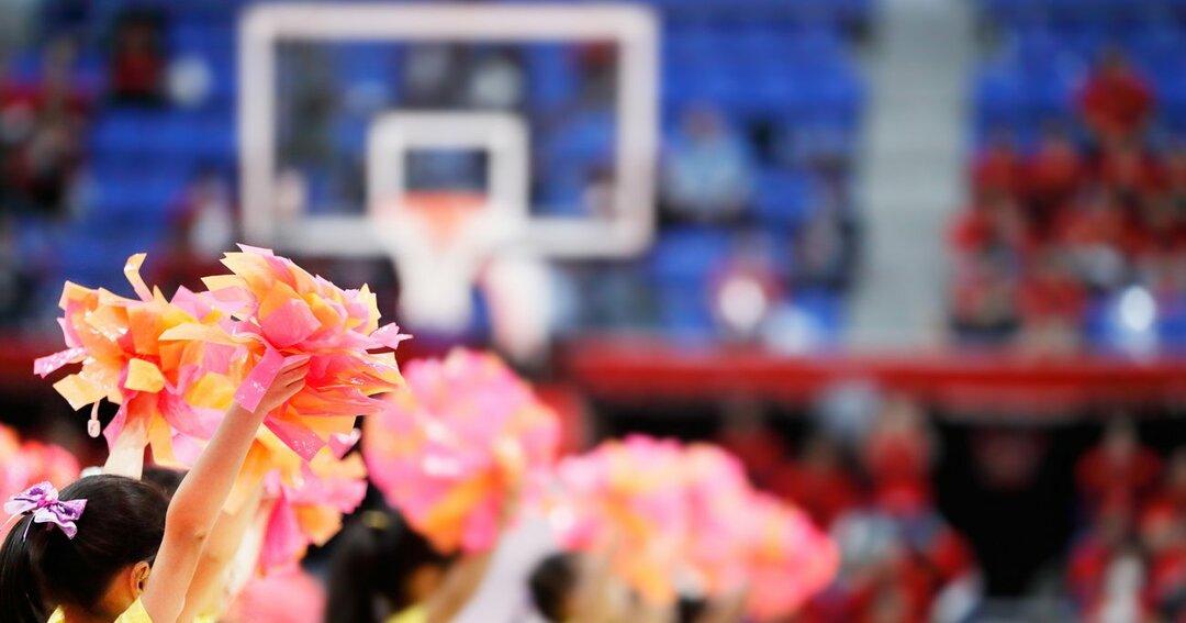 バスケットボール試合会場