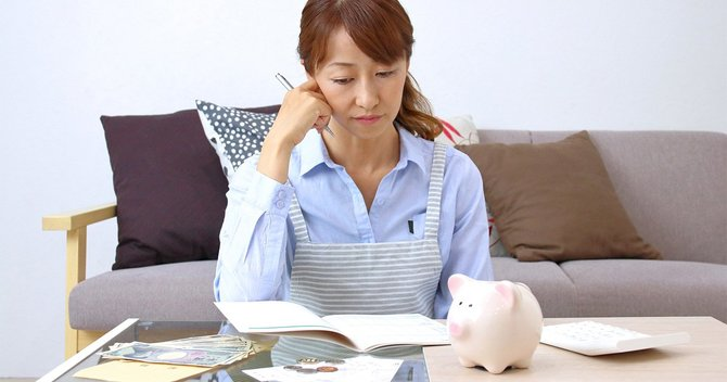 ずさんな家計管理