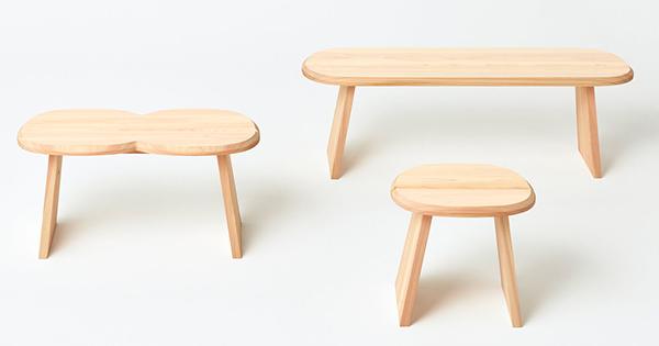 """「more trees」設立10周年記念""""STOOL""""(スツール)を発表"""