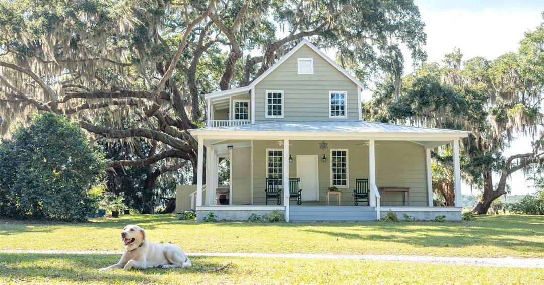 映画「きみに読む物語」が撮影されたサウスカロライナ州エディスト島にある住宅
