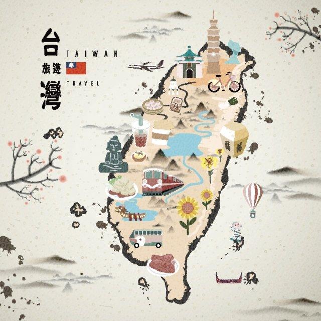 台湾は旅の楽しみがいっぱい