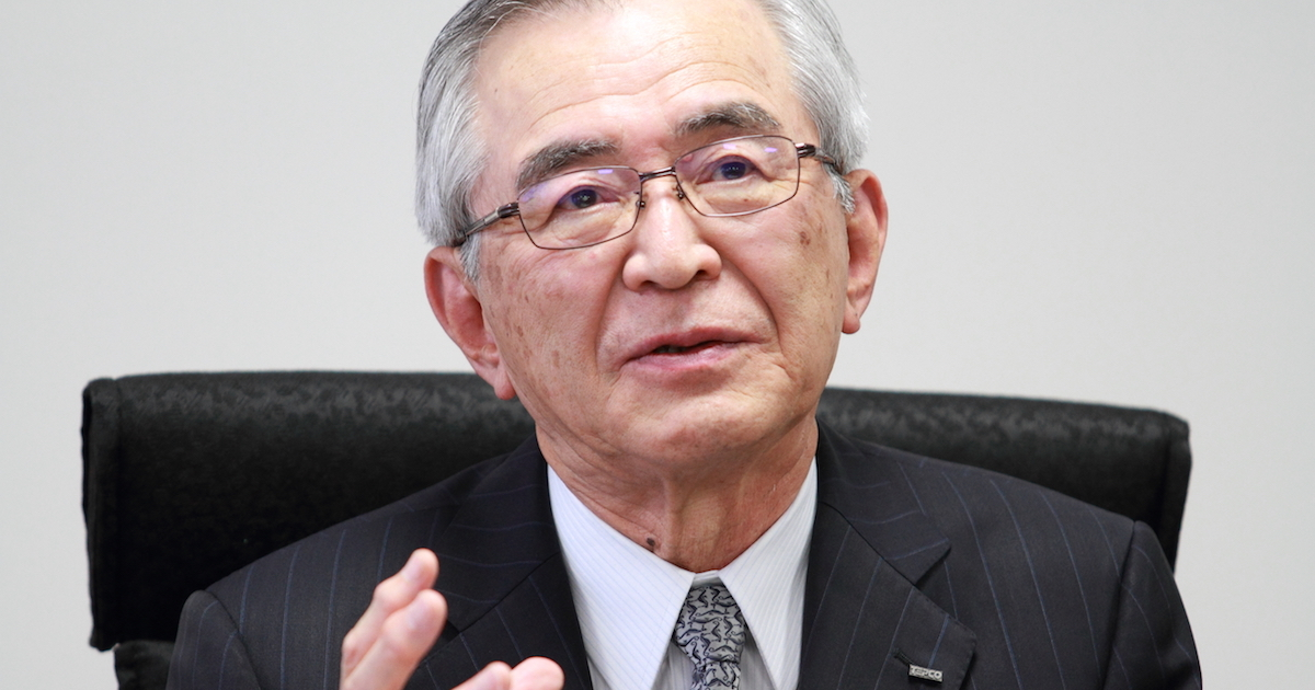 東電HD・川村会長「原発はまだ再編の段階ではない」